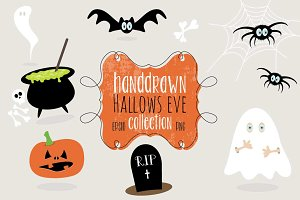 Handdrawn Halloween Collection
