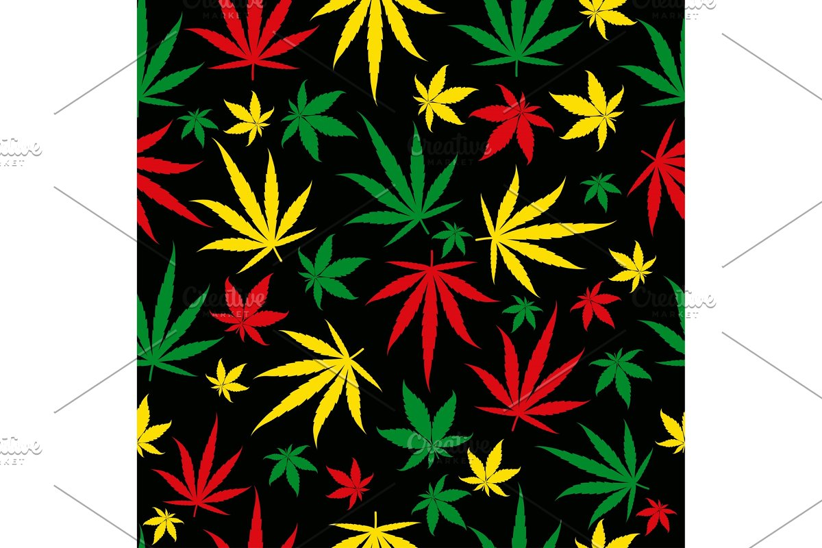 Save rasta pattern