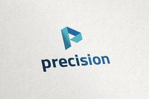 P Logo - Play Media Logo