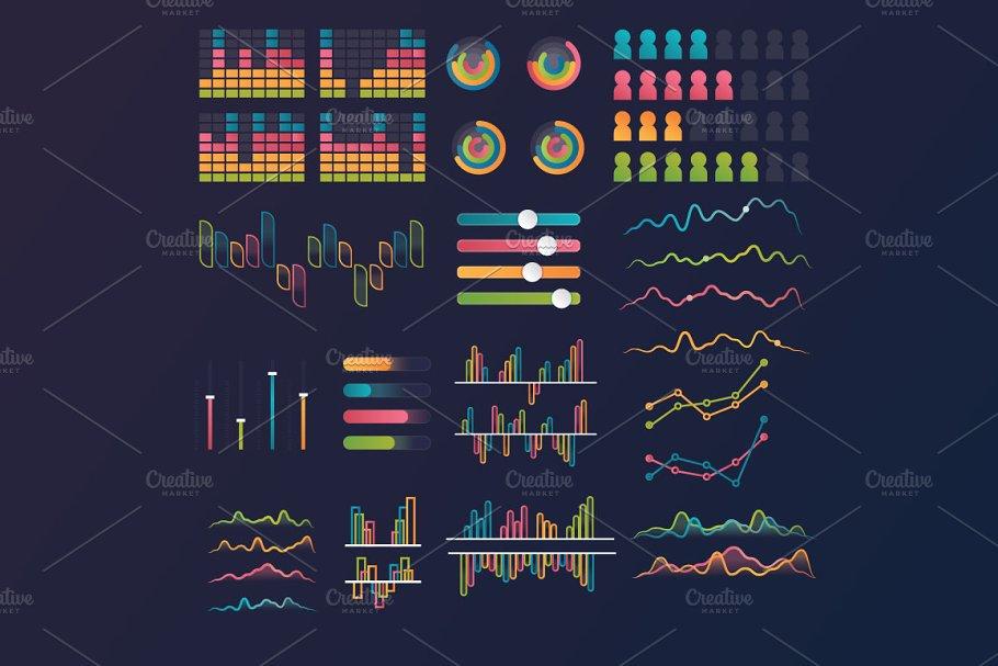 illustration Infographic elements
