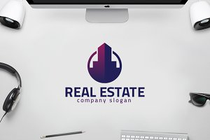 Real Estate - City Apartment Logo