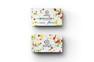 Splatters Art Business Card - 36