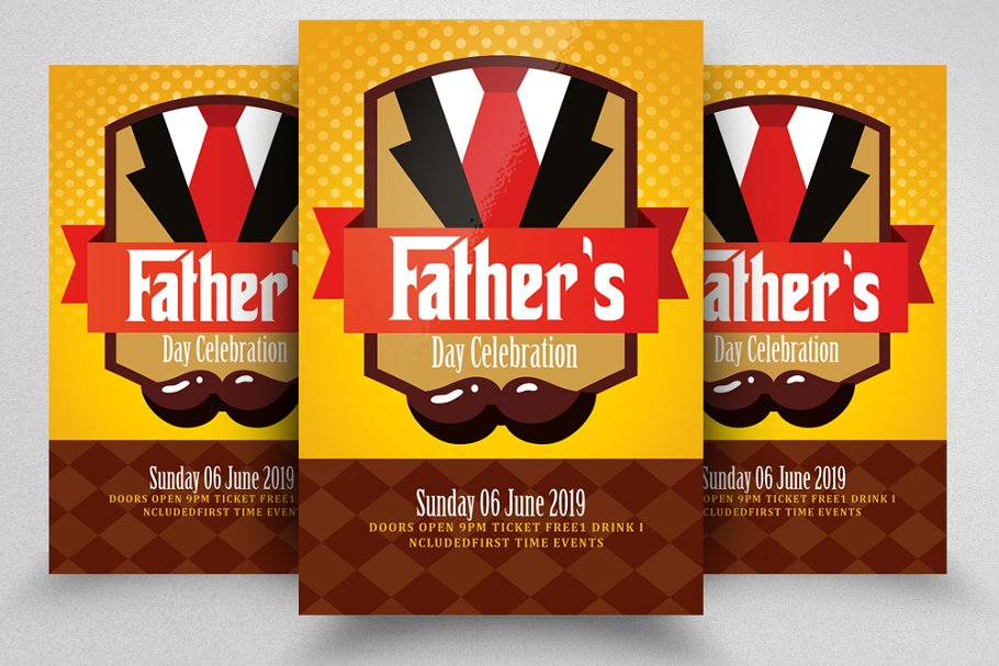 Best Father Day Flyer Template