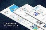 iCreative–Divi Child Theme