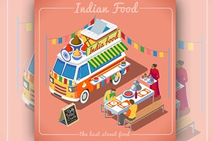 Indian Spicy Food Truck