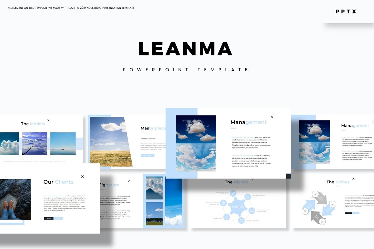 Leanma - Powerpoint Template