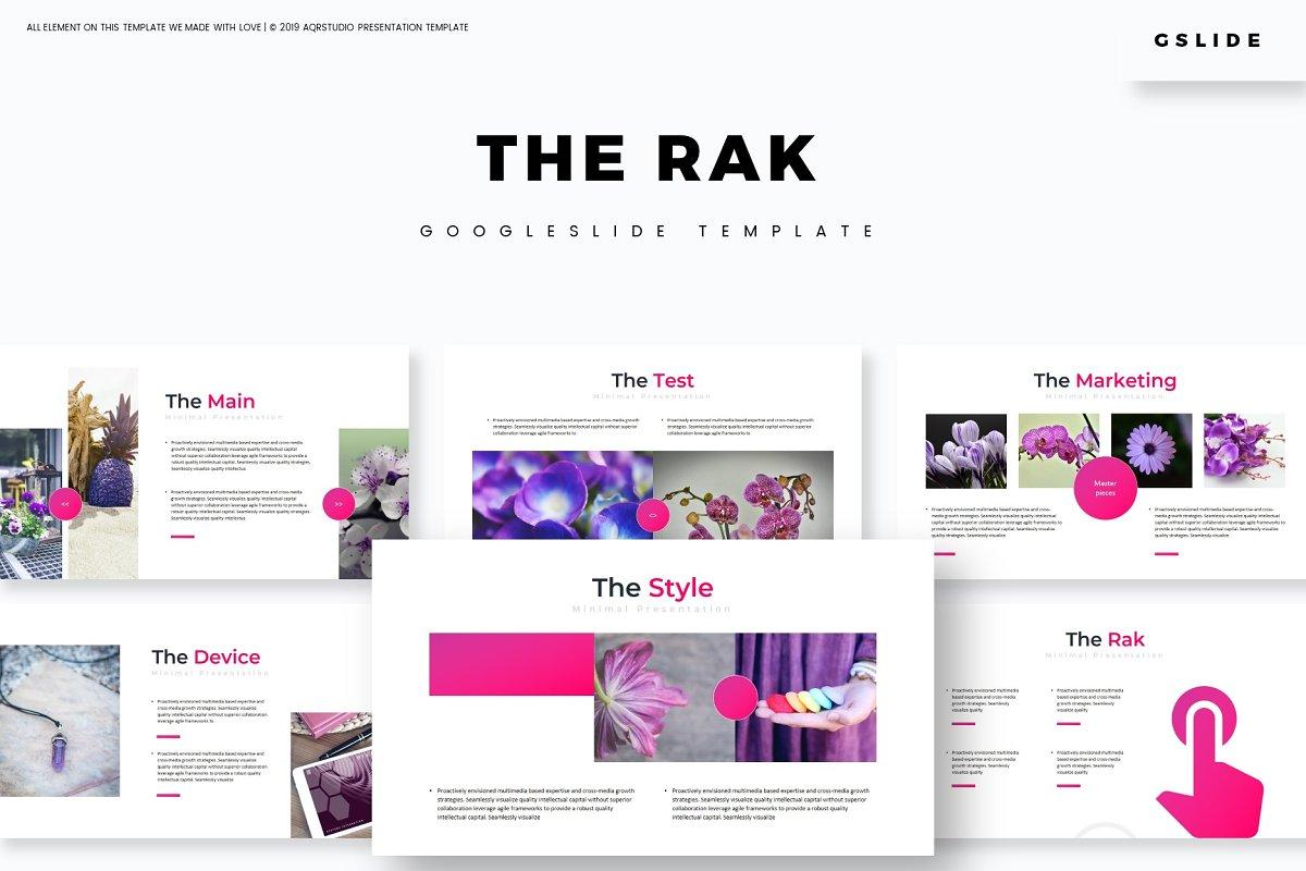 The Rak - Google Slides Template