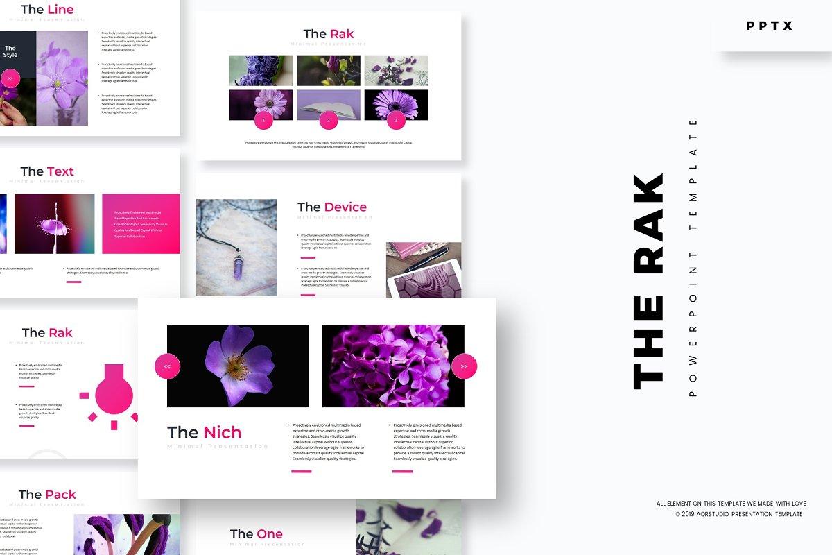 The Rak - Powerpoint Template