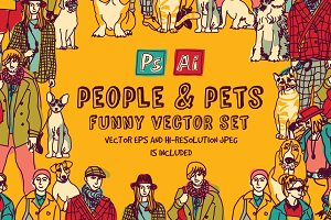 People and pets collection