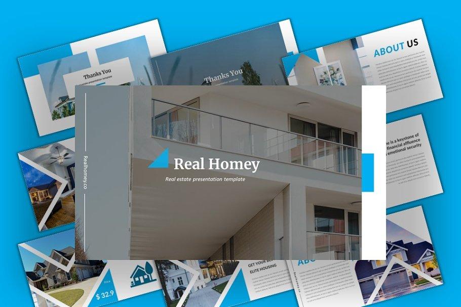 Real Homey - Furniture Google Slides