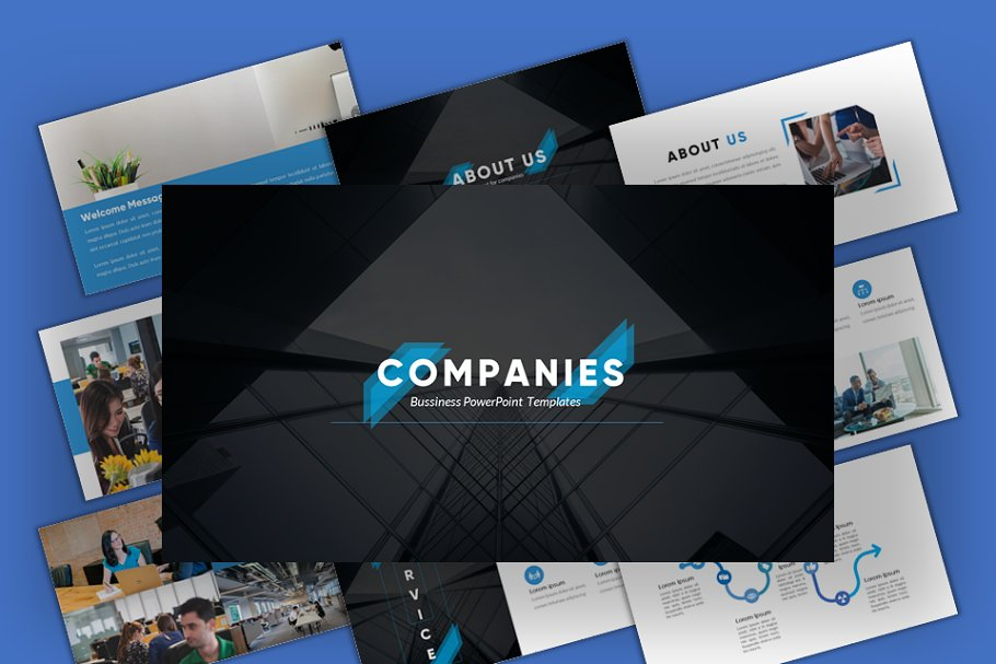 Companies - Business Google Slides
