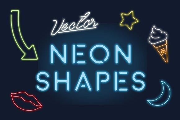 Design Trend Report Neon Design Creative Market Blog