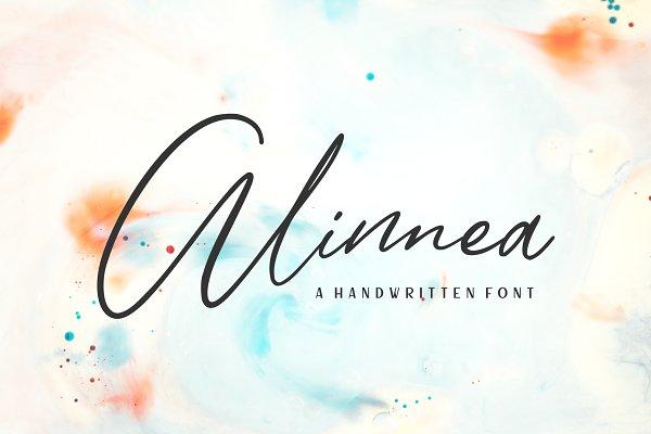 Alinnea - Handwritten Font