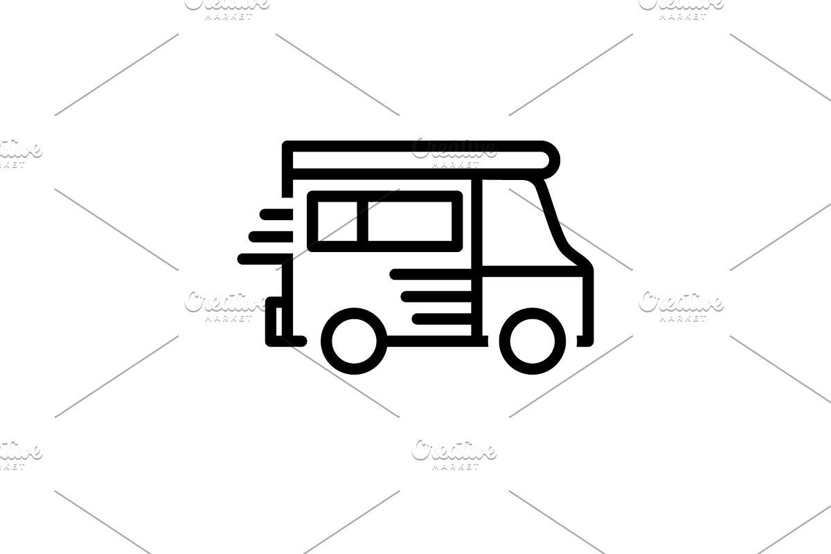 Van vehicle icon