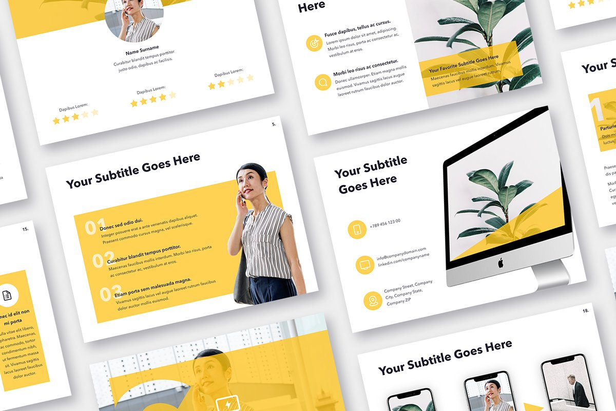 Light Solid Powerpoint Template Powerpoint Templates