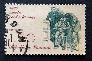 Postage stamp to celebrate vaccine