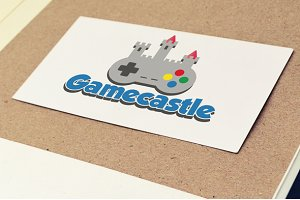 Gamecastle Videogame Studio Logo