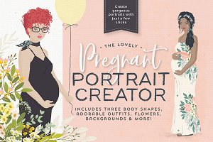 The lovely Pregnant Portrait Creator