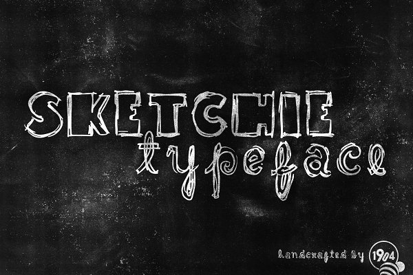 Sketchie Typeface