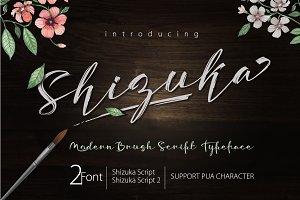 Shizuka Brush Script