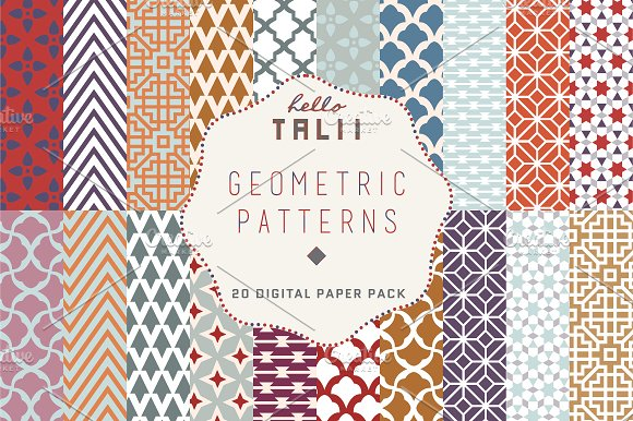 Geometric Fall Patterns