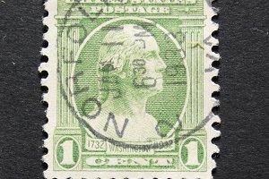 Vintage 1932 postage stamp
