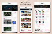 Bloggee-Blog Child Theme for Divi