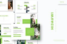 Hijauwi - Powerpoint Template