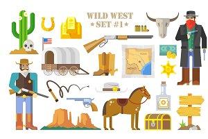 Wild West Set #1