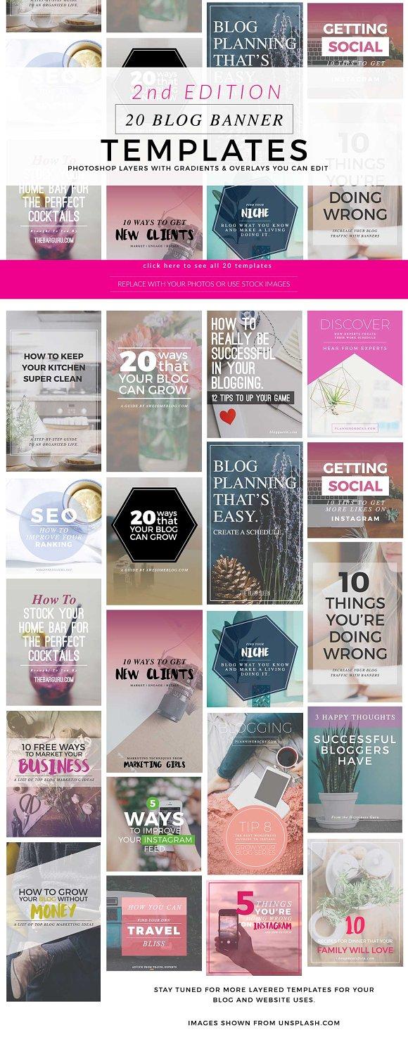 Blog instagram pinterest banners 2 social media - Stilreich blog instagram ...
