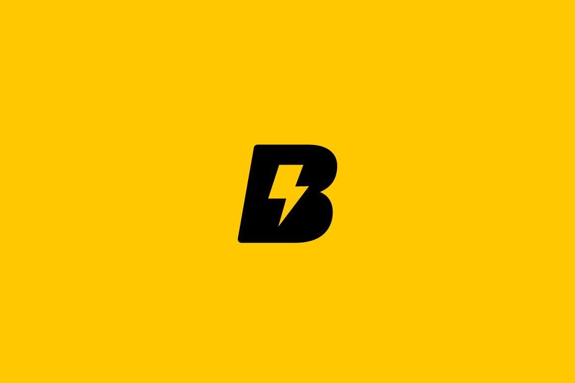 Universal letter b logo flash sign logo templates for Logo b b