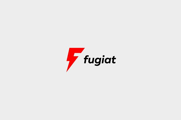 Universal letter F logo. Flash sign. - Logos
