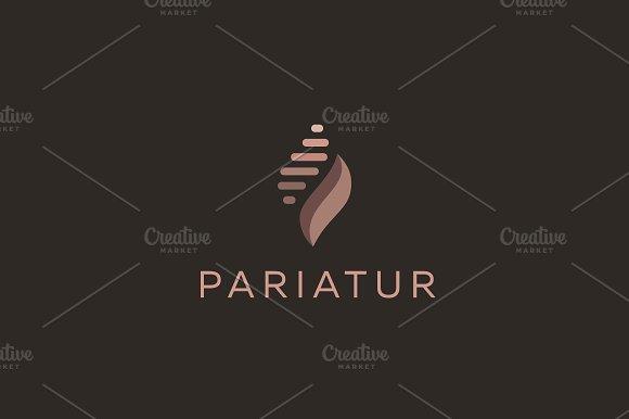 Abstract universal premium logo