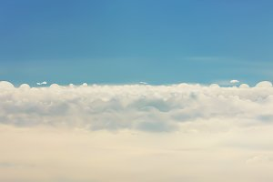 Clouds vector background