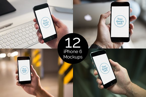 Free iPhone6 Mockups vol.1