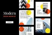 Modern Social Media Kit (Vol. 17)