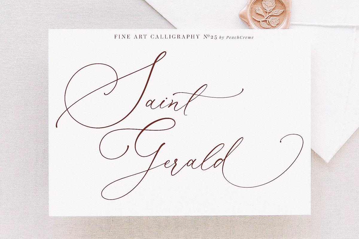 Saint Gerald//Luxury Font SALE !!!