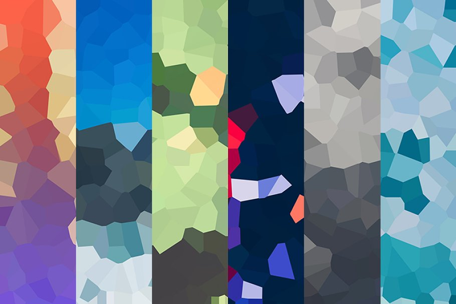 101 Vector Geometric Backgrounds V 3 ~ Graphic Patterns ~ Creative