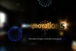 FCPX Template: Illustrated Fireworks