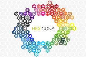 Hexicons - The expanding icon set