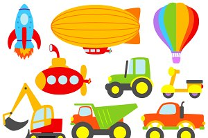Transportation Vectors & Clipart 2