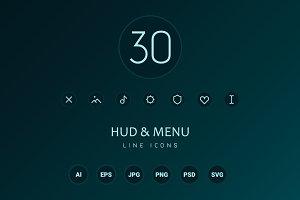 HUD & Menu Icons