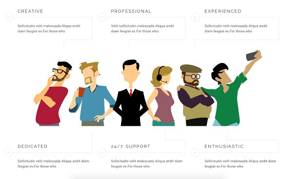 Reign Pro - Corporate Agency in Bootstrap Themes - product preview 1