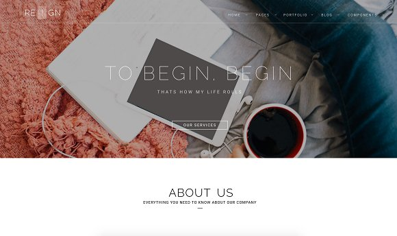 Reign Pro - Corporate Agency in Bootstrap Themes - product preview 4