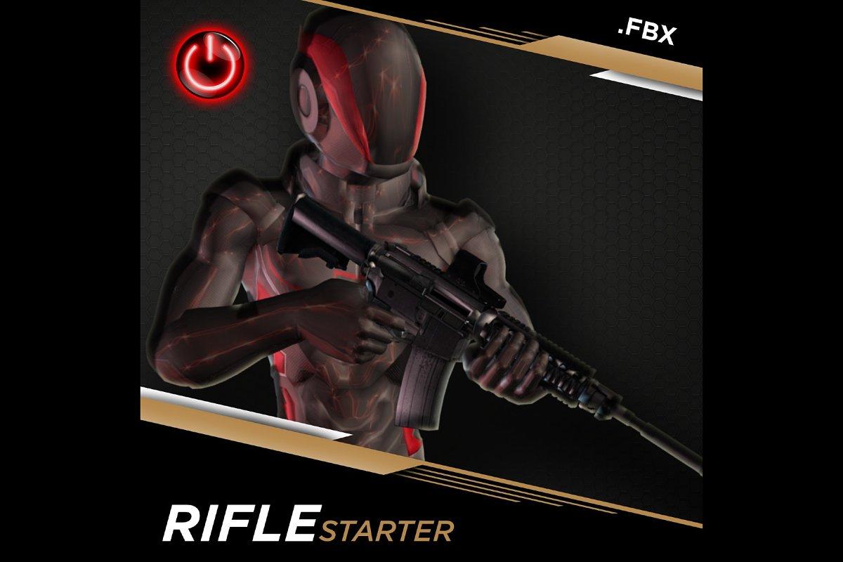 [FBX] RIFLE STARTER: 3D CHARACTER AN