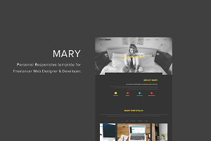 Mary - Resume template