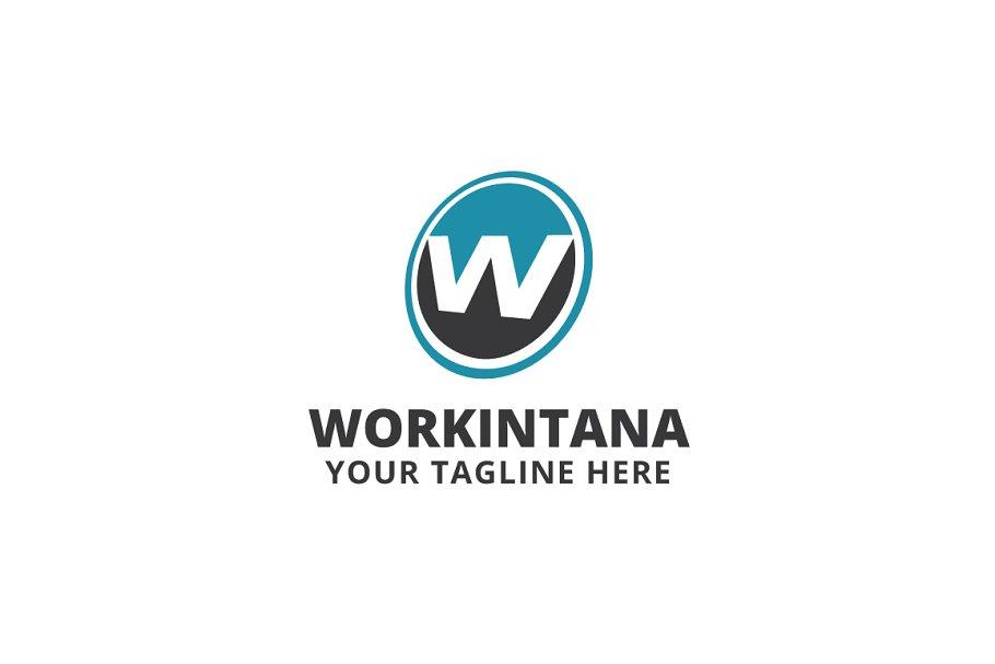 Workintana Logo Template