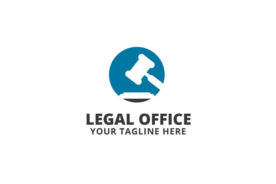 Legal Office Logo Template