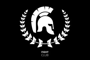 Greek or Roman Helmet Logo