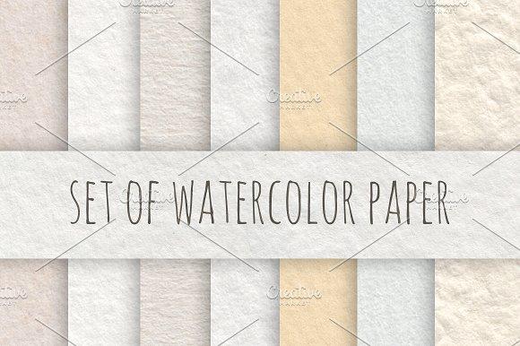 Watercolor Paper Set